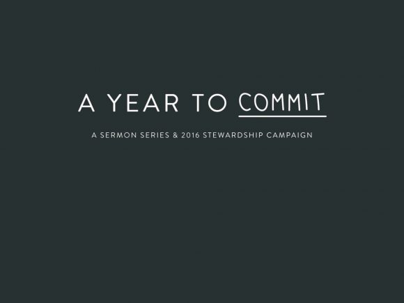 A Year to Commit